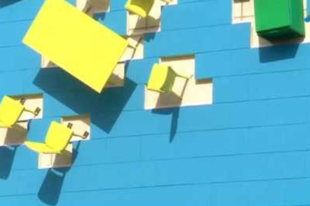 Migennes : un immeuble est transformé en œuvre d'art … avant d'être détruit